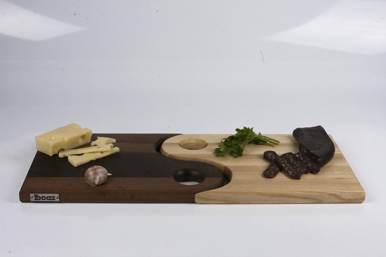 The Making of an Yin & Yang Serving Board